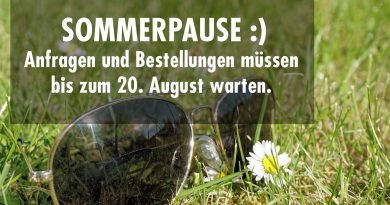 Sommerpause!
